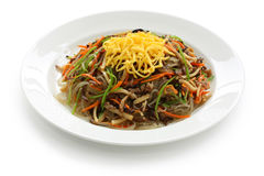 Japchae Stockfotos