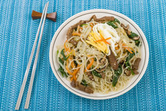 Japchae Royalty Free Stock Photo