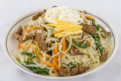 Japchae Stock Photo