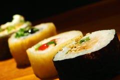 japenese的食物 库存照片