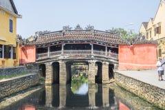Japenese bro Hoi An Royaltyfri Bild