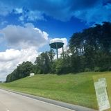 Japer water tower Royalty Free Stock Photography
