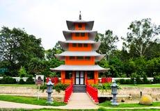 Japnese tempel Fotografering för Bildbyråer