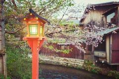 Japnese vintage lantern Stock Images