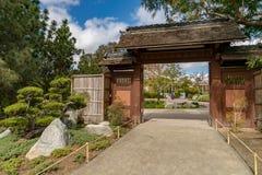 Japońska ogródu mostu wody ścieżka obrazy royalty free