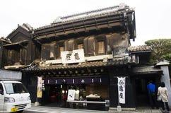 Japończycy, obcokrajowa podróżnika odprowadzenie i zakupy souv obrazy stock