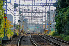 Japończyków pociągów ślada Obrazy Stock