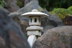 Japończyk skały światło zdjęcie stock
