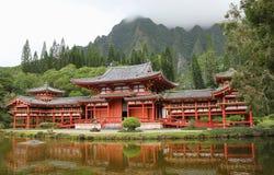 Japończyk W świątyni Fotografia Royalty Free