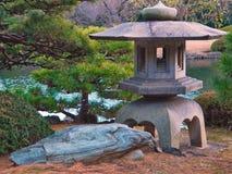 Japończyk wody ogród w Tokio obrazy stock