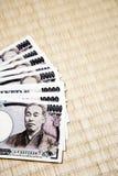 japończyk zauważa jen Obrazy Stock