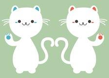 Japończyka Maneki Neko szczęsliwy kot Obrazy Stock