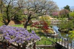 Japończyka ogród, Himeji zdjęcia royalty free