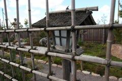 Japończyka ogród, lampion Japonia, Japońska kultura Zdjęcia Stock