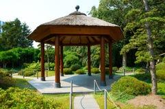 Japończyka ogród przy Planten un Blomen parkiem hamburger Zdjęcia Royalty Free