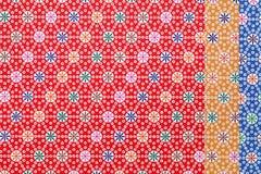 Japończyka origami deseniowy papier Zdjęcia Royalty Free