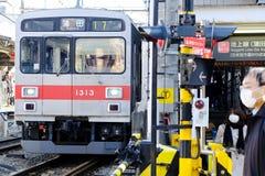 Japończyka pociąg Zdjęcia Stock