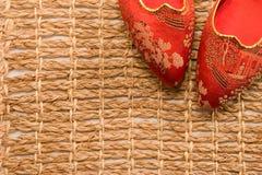 japońscy filigranowi kapcie obrazy stock
