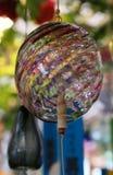 Japońscy szklani wiatrowi kuranty obrazy royalty free