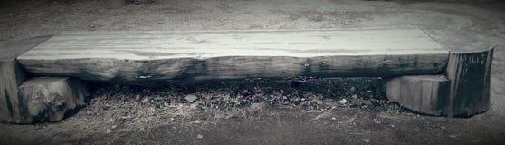Japońska ławka Zdjęcie Royalty Free