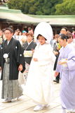Japońska Ślubna ceremonia Obraz Stock