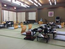 Japońska śniadaniowa sala Zdjęcia Stock