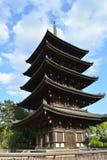 japońska świątynia dłoni zdjęcia royalty free