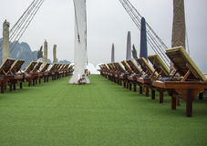 Japońska dżonki łódź Obrazy Royalty Free