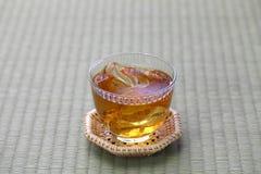 Japońska jęczmienna herbata zdjęcie royalty free