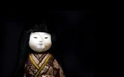 Japońska keisha lala na białym tle Fotografia Royalty Free