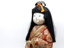 Japońska keisha lala na białym tle Zdjęcie Royalty Free