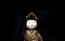 Japońska keisha lala na białym tle Zdjęcia Royalty Free