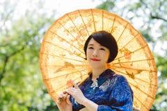 Japońska kobieta zdjęcia stock
