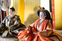 Japońska lala obrazy royalty free