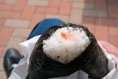 Japońska Ryżowa piłka fotografia stock