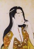 Japońska tradycyjna odzież Zdjęcia Stock