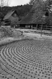 japońska tradycyjna wioska Obrazy Royalty Free