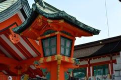 Japoński świątynia lampion obraz royalty free