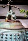 Japoński świątynny dzwonkowy Nijo kasztel, Kyoto, Japonia Fotografia Royalty Free