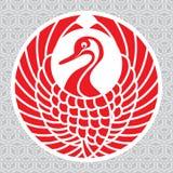 Japoński żuraw Zdjęcia Stock