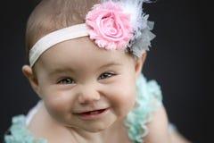 Japoński Amerykański berbeć dziewczyny ono Uśmiecha się Zdjęcie Royalty Free