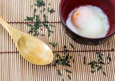 Japoński Gorącej wiosny jajko Obraz Royalty Free