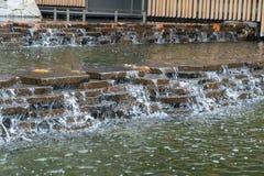Japoński Herbacianego ogródu fontanny wejście obraz stock