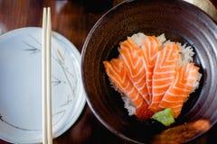 Japoński jedzenie, łosoś/ Zdjęcie Stock