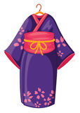 japoński kimono royalty ilustracja