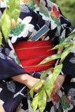 Japoński kimono styl fotografia stock