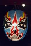 Japoński lampion w świątyni Obrazy Royalty Free