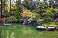 japoński ogród zen fotografia stock