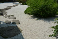 japoński ogród zen Obraz Stock