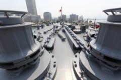 Japoński okręt wojenny Fotografia Stock